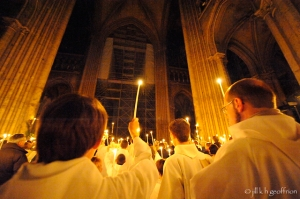 Easter Vigil in Cathedral