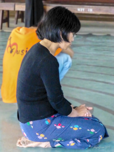 Myanmar Institute of Theology faculty and students seeking God's guidance