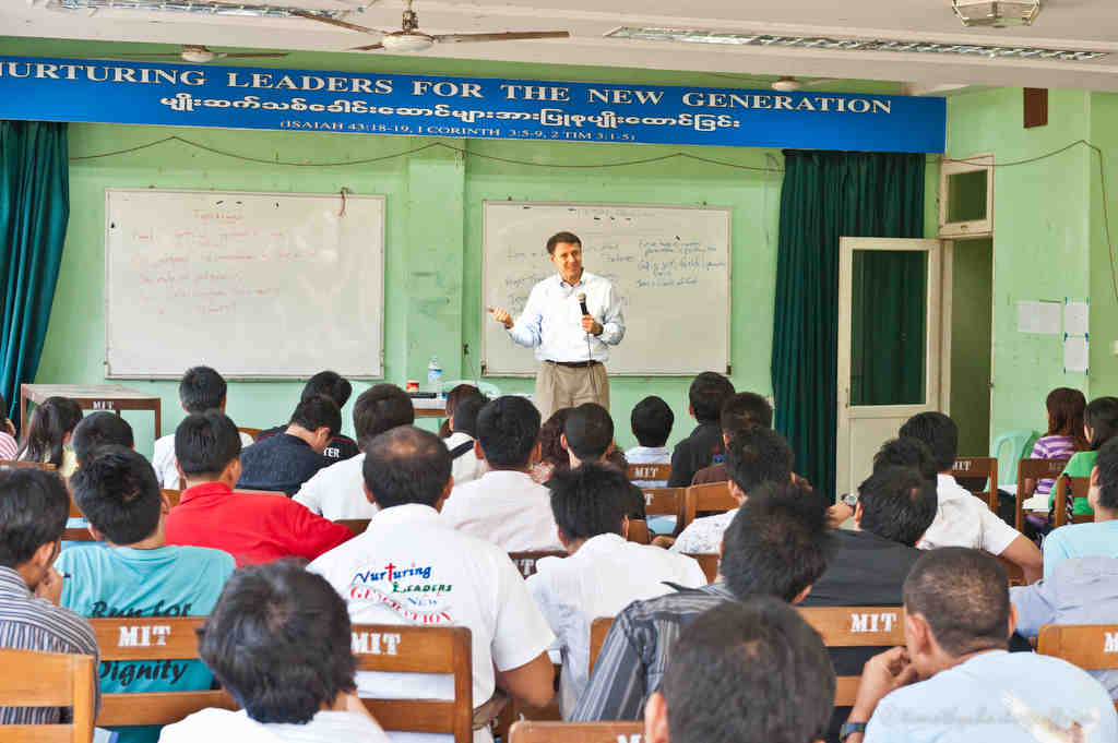 A Dream Realized: Teaching at the Myanmar Institute of Theology in Yangon